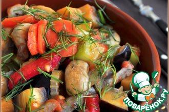 Рецепт: Быстрый гарнир из овощей на все случаи