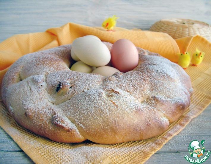 Рецепт: Болгарский козунак