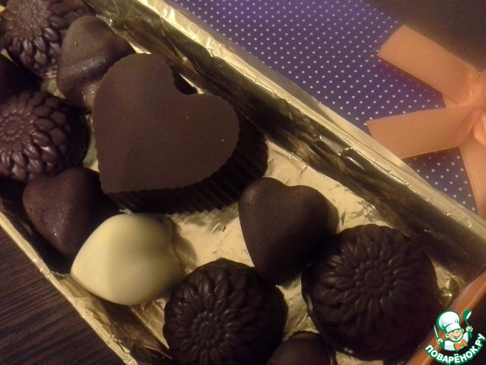 Шоколад рецепт фото ассорти