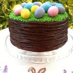 Торт Пасхальное лукошко