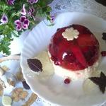 Десерт фруктово-ягодный с рисом