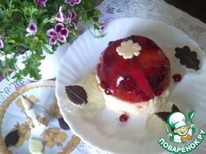 Рецепт Десерт фруктово-ягодный с рисом