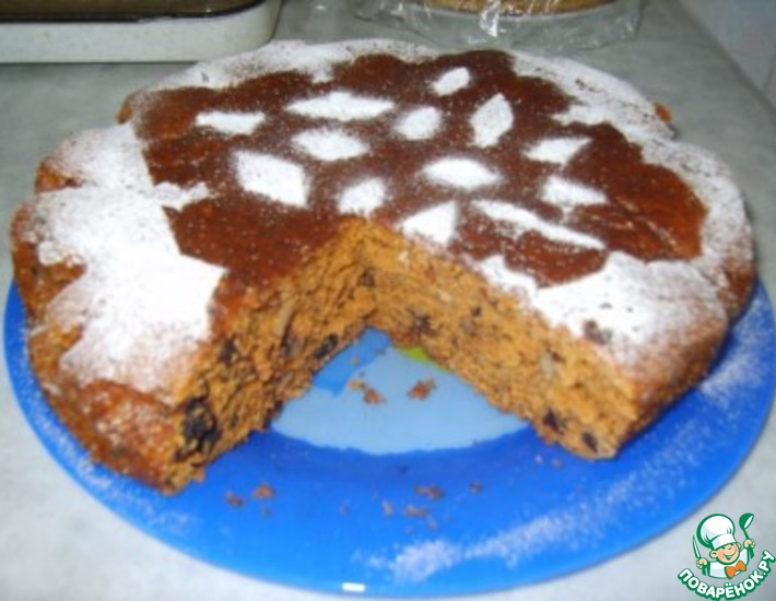 Пирог кофейный – кулинарный рецепт
