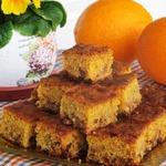 Сочный цитрусово-изюмный пирог