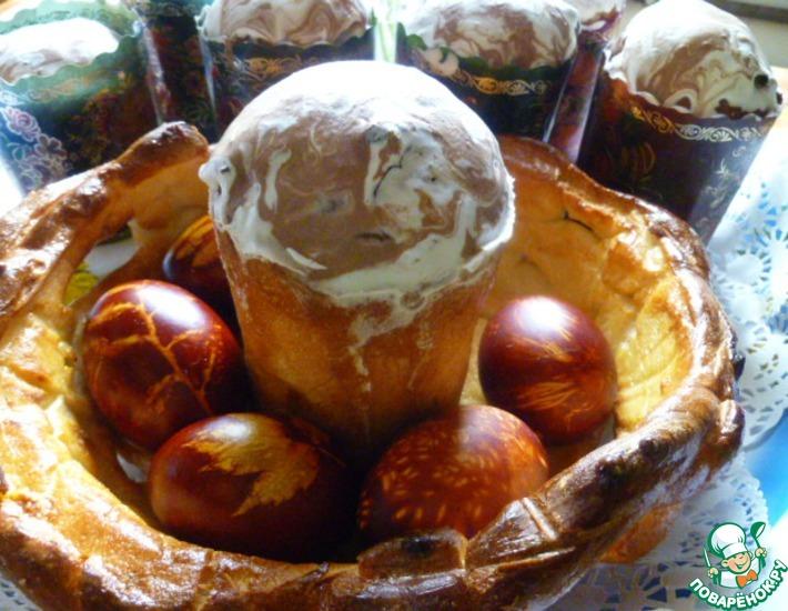 Рецепт: Пасхальный кулич от Елены Калининой