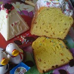 Пасхальный кулич заварной в хлебопечке