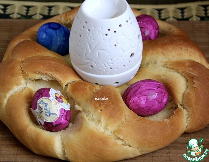 Рецепт: Австрийский пасхальный хлеб