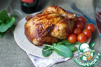 Рецепт: Курица запеченная
