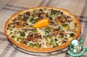 Рецепт Белая пицца