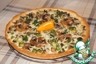 Рецепт: Белая пицца