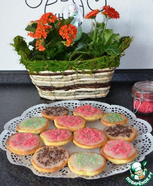 """Бисквитное печенье """"Американцы"""" – кулинарный рецепт"""