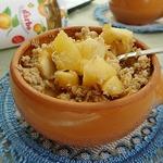 Теплый десерт Фруктовый компот