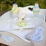 Пасхальный зайчик и яйца Фаберже