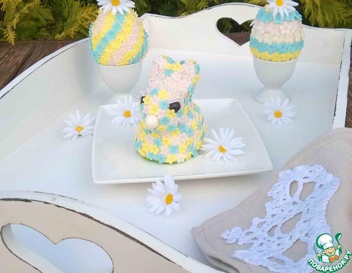 Рецепт: Пасхальный зайчик и яйца Фаберже