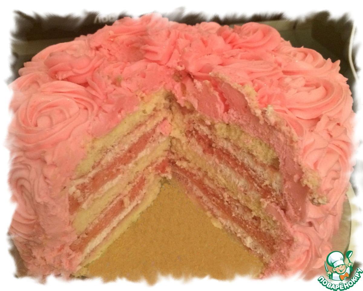 """Торт """"для юной красотки"""""""