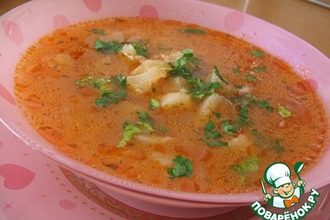 Рецепт: Рыбный суп из Хорватии