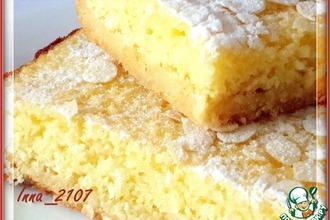 Рецепт: Лимонно-кокосовый пирог