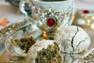 Рецепт: Печенье Ореховый микс