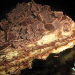 Ледяной миндальный торт-Semifreddo
