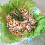 Салатик рыбный