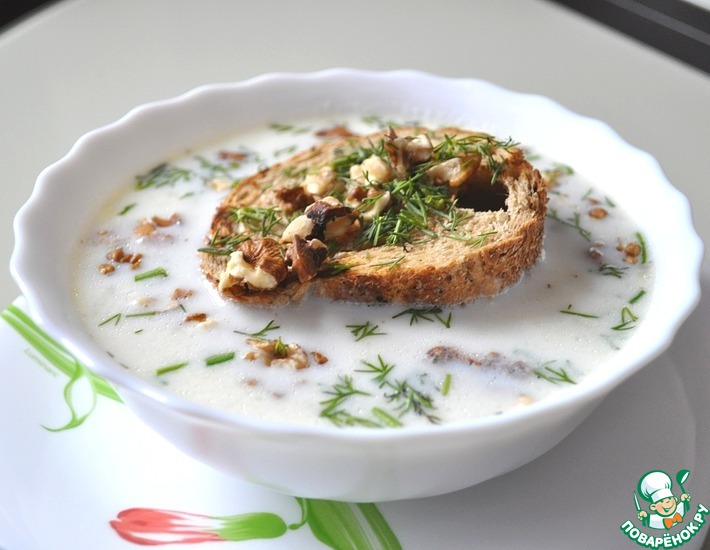 Рецепт: Картофельный крем-суп