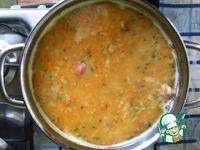 Гороховый суп с копчеными ребрышками ингредиенты