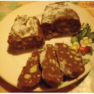 Шоколадная колбаска Наслаждение