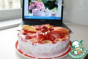 Торт с желе Елизавета Желе