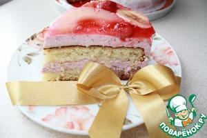 Торт с желе Елизавета Банан