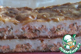 Рецепт: Быстрый пирог с семгой