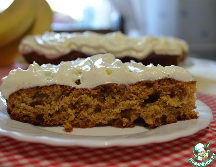 Рецепт: Финиковый пирог
