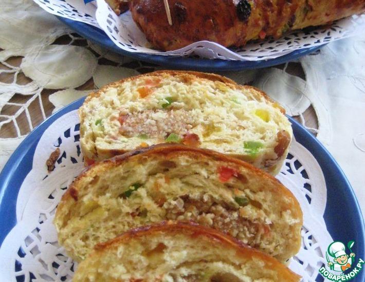 Рецепт: Голландский пасхальный хлеб