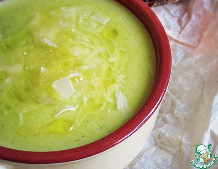 Рецепт: Суп-пюре из брокколи