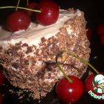 Мини-тортики-мороженое Вишенка