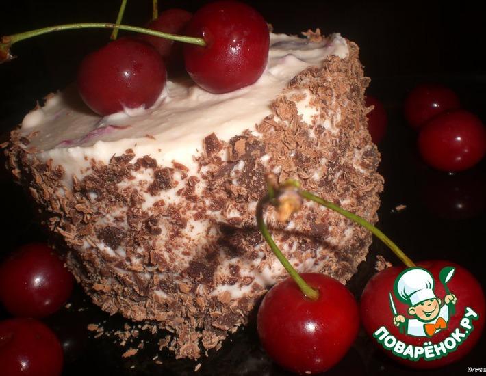 Рецепт: Мини-тортики-мороженое Вишенка
