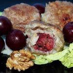 Тефтели с вишней и орехами