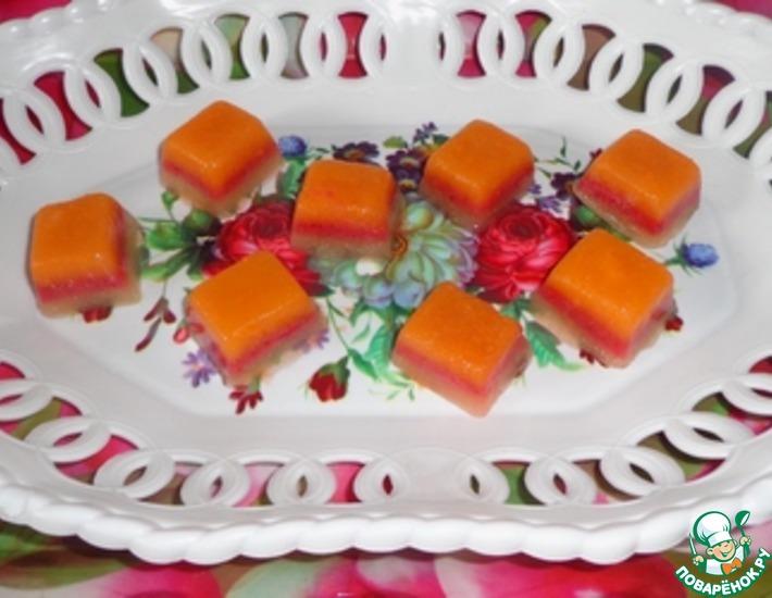 Рецепт: Лед Ягодно-фруктовый микс