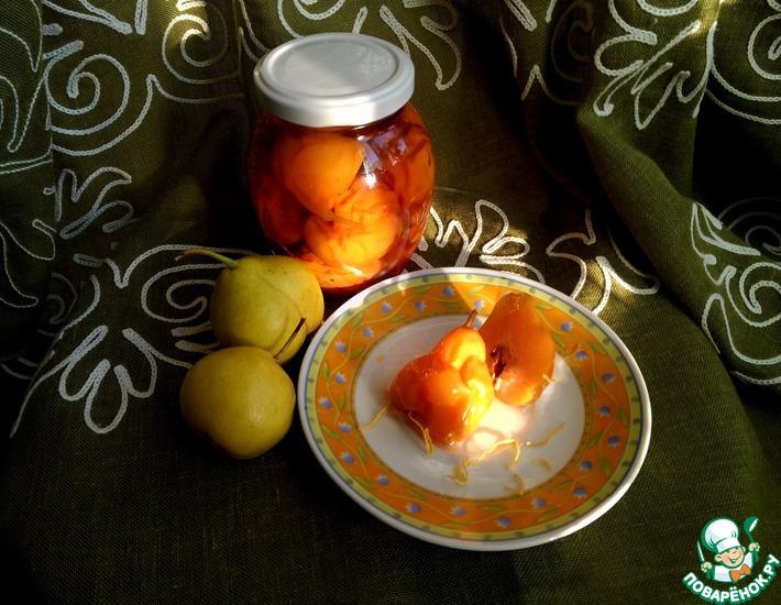 Рецепт: Варенье из груш