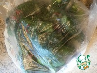 Малосольные огурцы в пакете ингредиенты