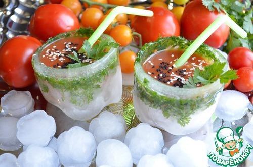 """Холодный напиток """"Гибискус"""" по-волжски – кулинарный рецепт"""