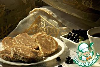 Рецепт: Черносмородиновая колбаска