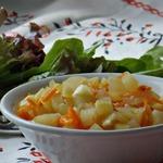 Хрустящий кабачковый салат