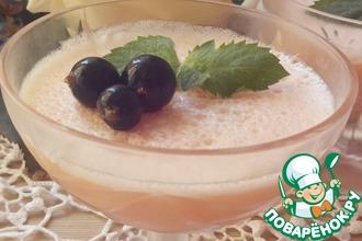Рецепт: Желе грейпфрутовое с белым вином