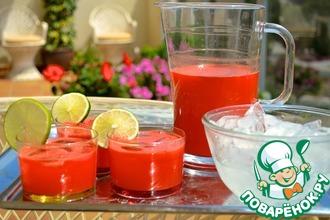 Рецепт: Арбузный лимонад