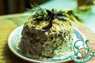 Рецепт: Овощной тортик