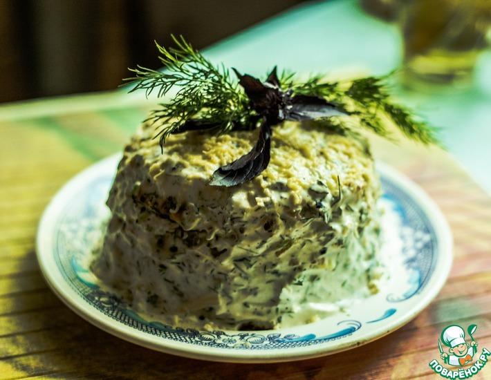 Рецепт: Овощное пирожное