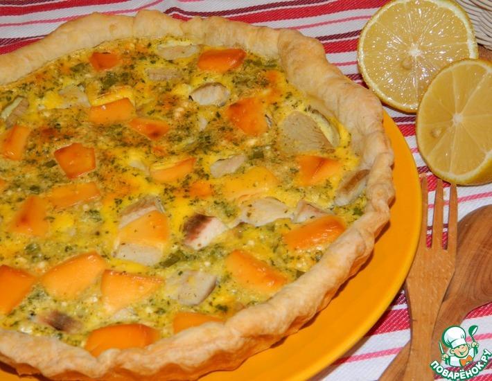 Рецепт: Рыбный пирог с плавленым сыром