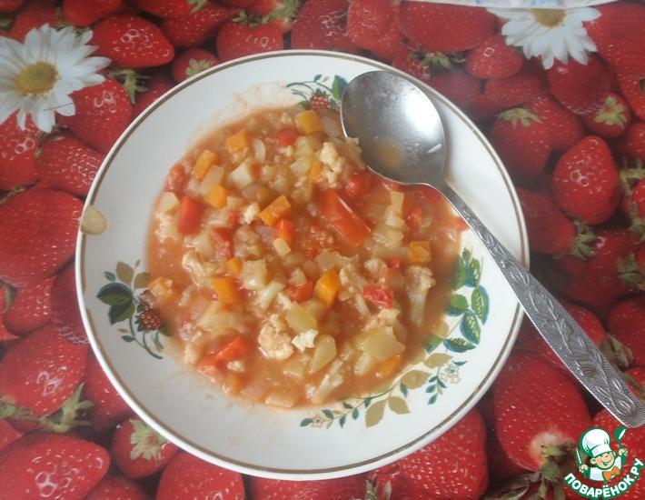 Рецепт: Овощное рагу Ассорти