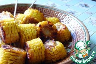 Рецепт: Жареная кукуруза