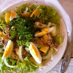 Фирменный салат с тунцом от Нонны Гришаевой